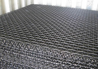 Vibrating Woven Wire Mesh Edge For Strong And Durable